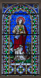 Clonmel_Irishtown_St._Mary's_Church_of_the_Assumption_Nave_East_Wall_Third_Bay_Window_Saint_John_the_Evangelist_2012_09_06